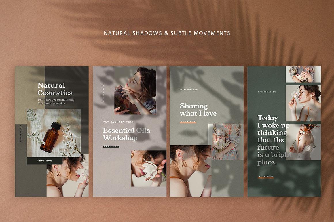 Natural Shadows Stories – Social Kit
