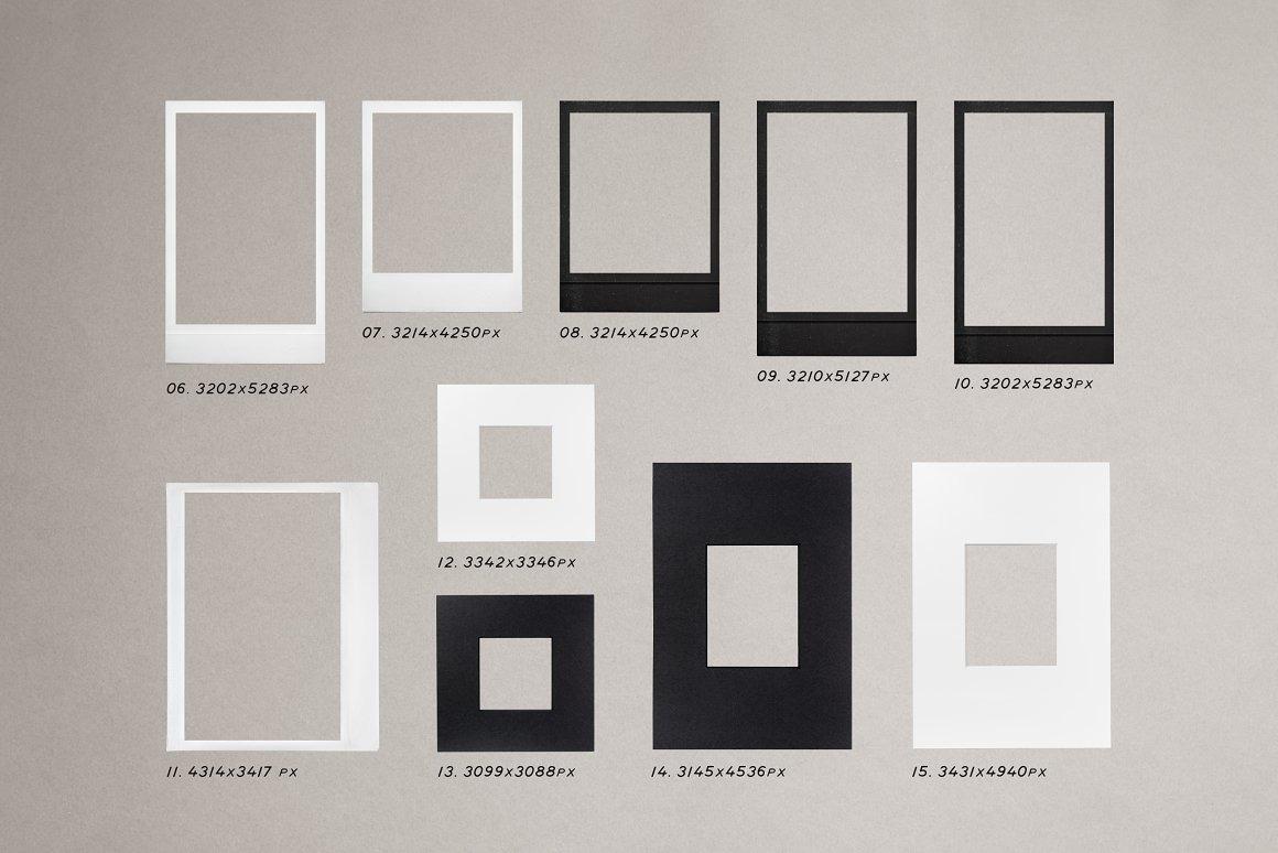 High Quality Film Frames Kit