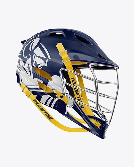 Lacrosse Helmet Mockup
