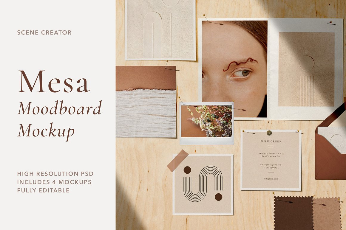 Mesa - Moodboard Scene Creator