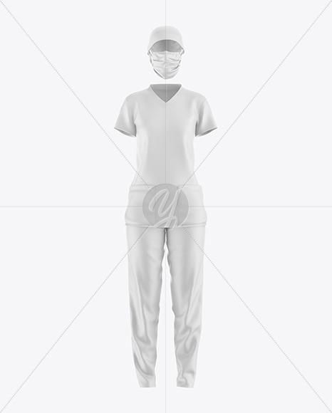 Nurse Uniform Mockup