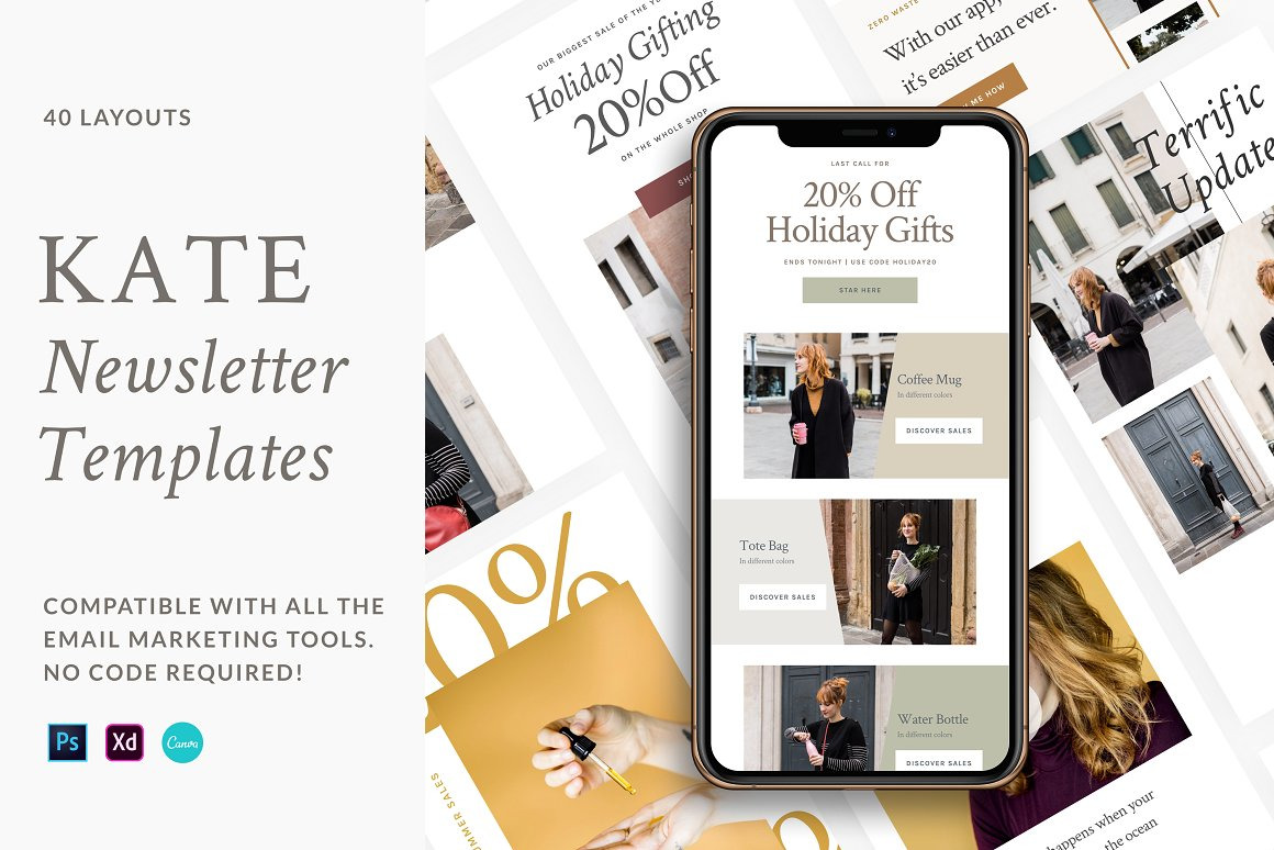 Kate - Newsletter Templates