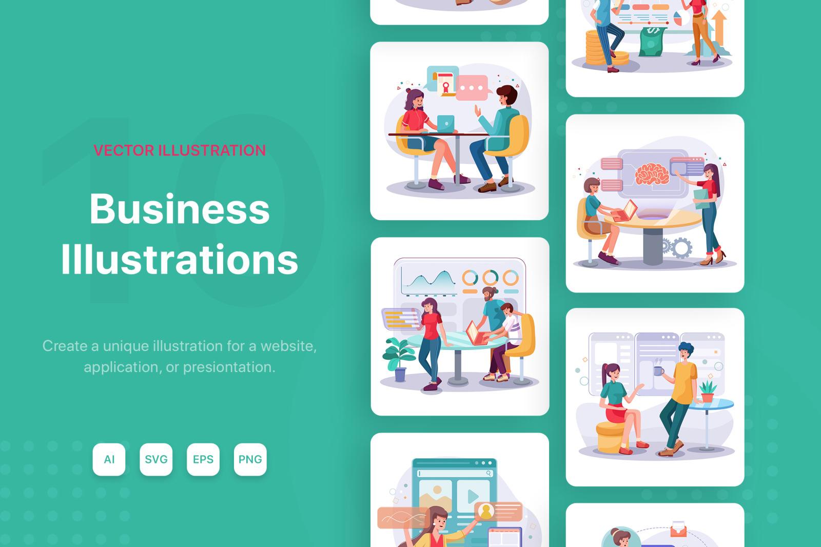 M94_Business Illustrations