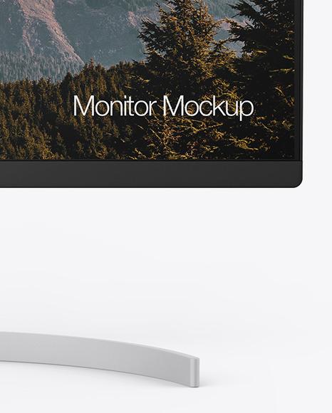 """27"""" Monitor Mockup"""