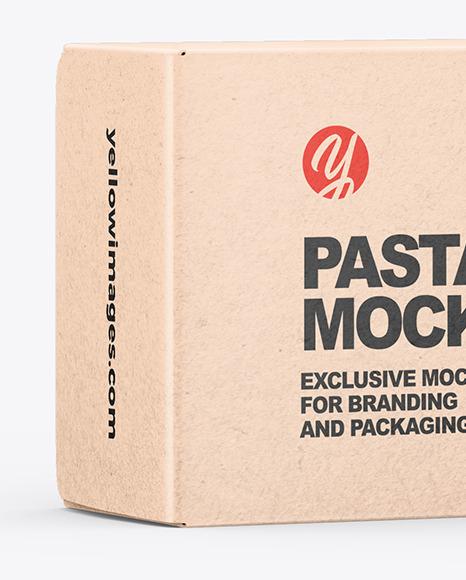 Kraft Spaghetti Pasta Box Mockup