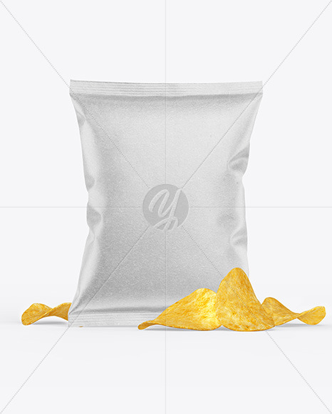 Kraft Snack Package w/ Chips Mockup