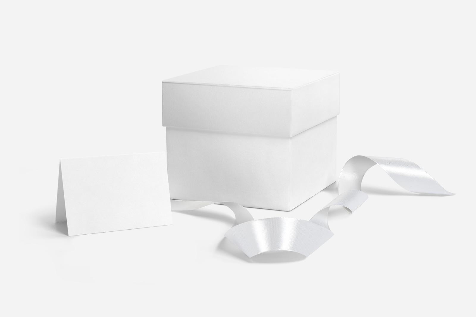 Gift Box Mockups Pack