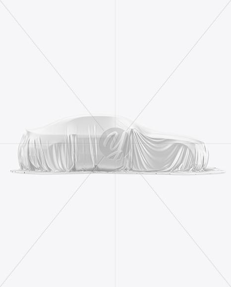 Premium Car Cover Mockup - Yellowimages Mockups