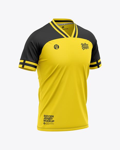 Soccer Jersey T-Shirt Mockup
