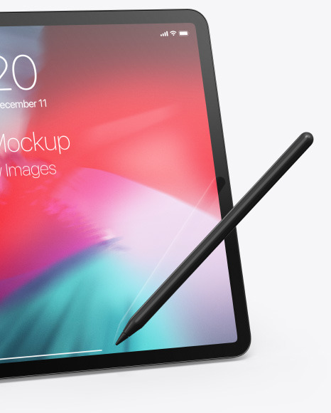Apple iPad Pro 2018 12.9 Mockup