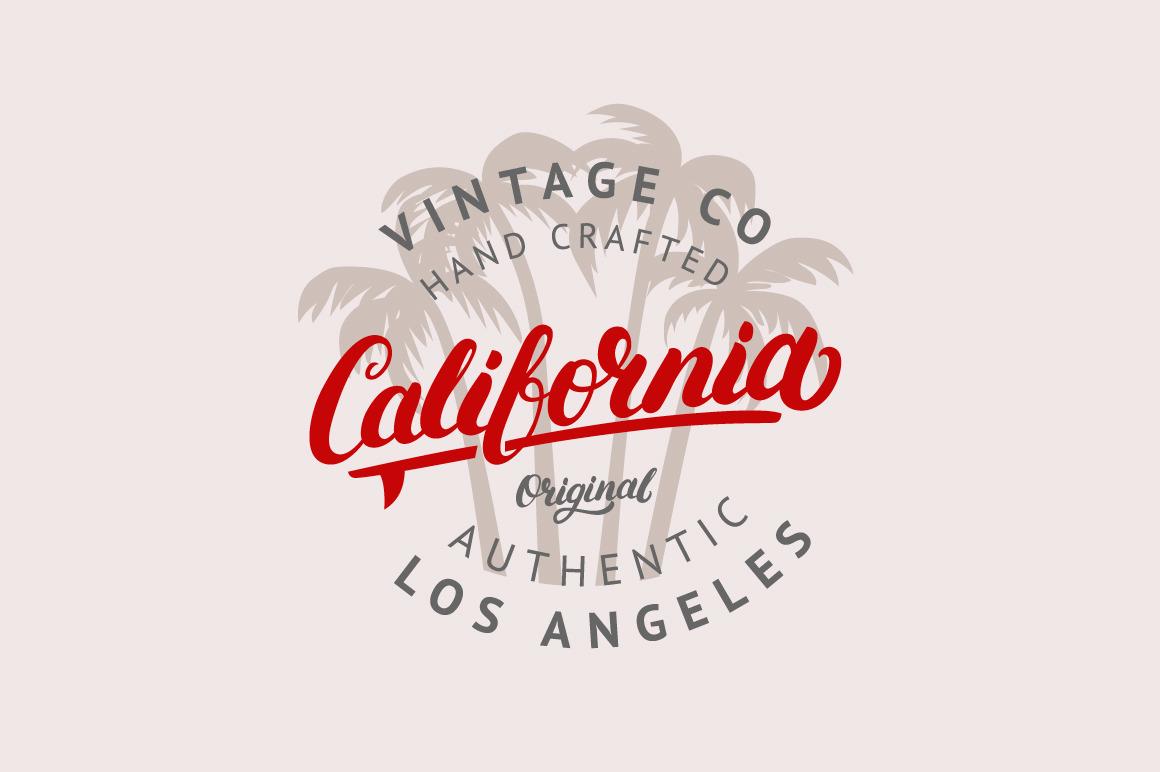 8 Vintage Labels & Badges