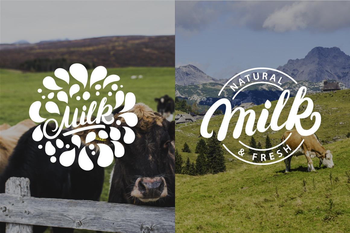 11 Milk logos