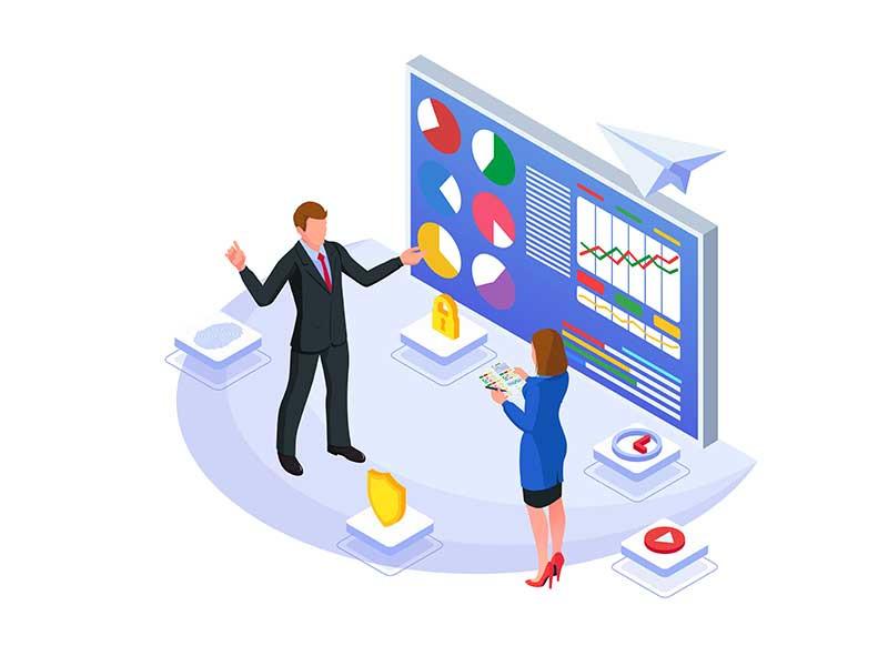 Set of Marketing Strategy Illustration