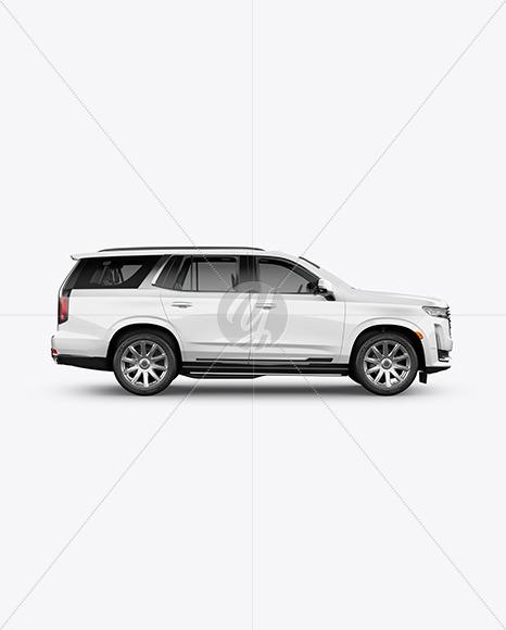 Luxury SUV Mockup - Side View - Yellowimages Mockups