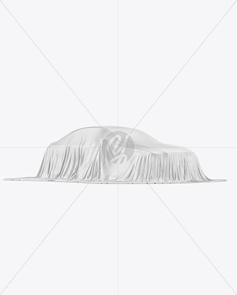 Premium Car Cover Mockup