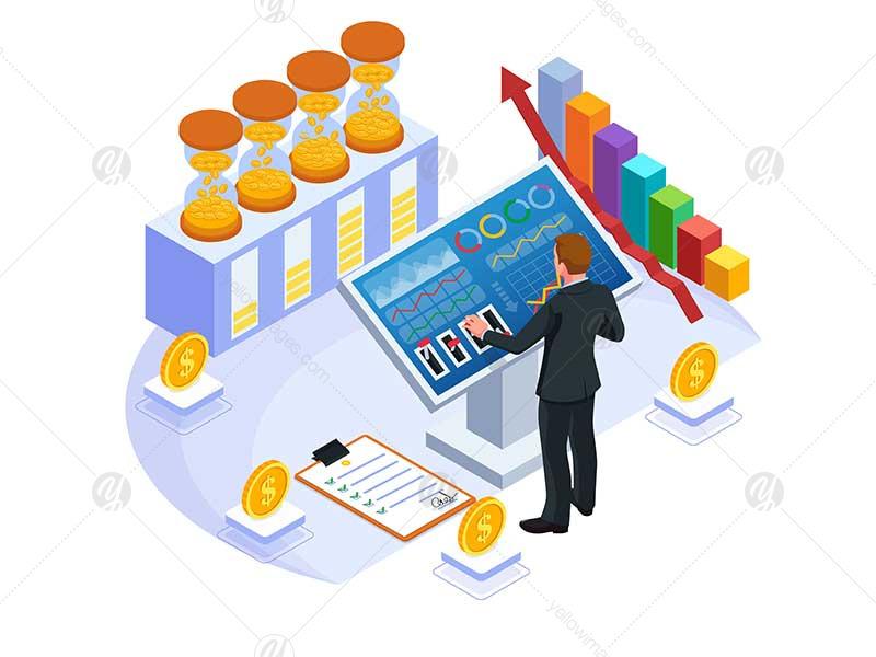 Set of Marketing Strategy Illustration V2