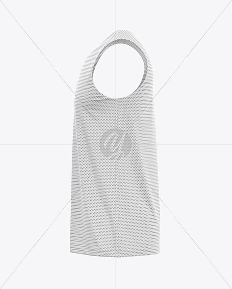 Download Mens Basketball Jersey Mockup Front View Of Basketball Tank Top Yellowimages