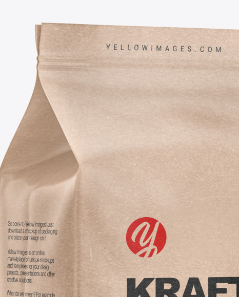 Download Coffee Bag Mockup Free Yellowimages