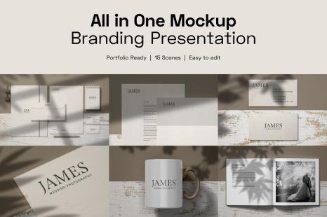 Branding Stationery Mockup Free