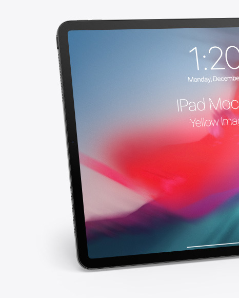 Apple iPhone 11 Pro w/ iPad Pro Mockup