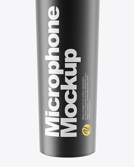 Microphone Mockup