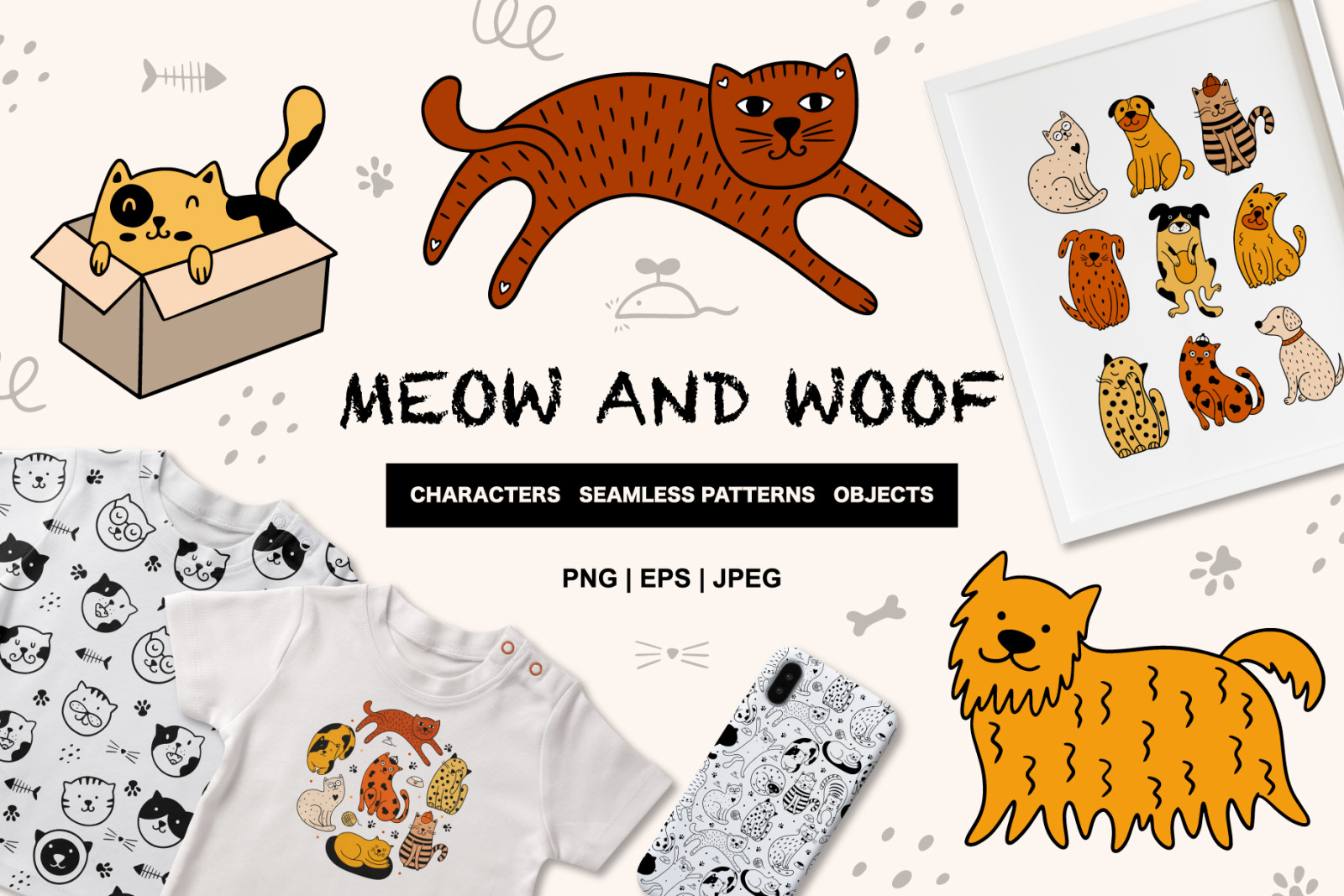 MEOW and WOOF!!!