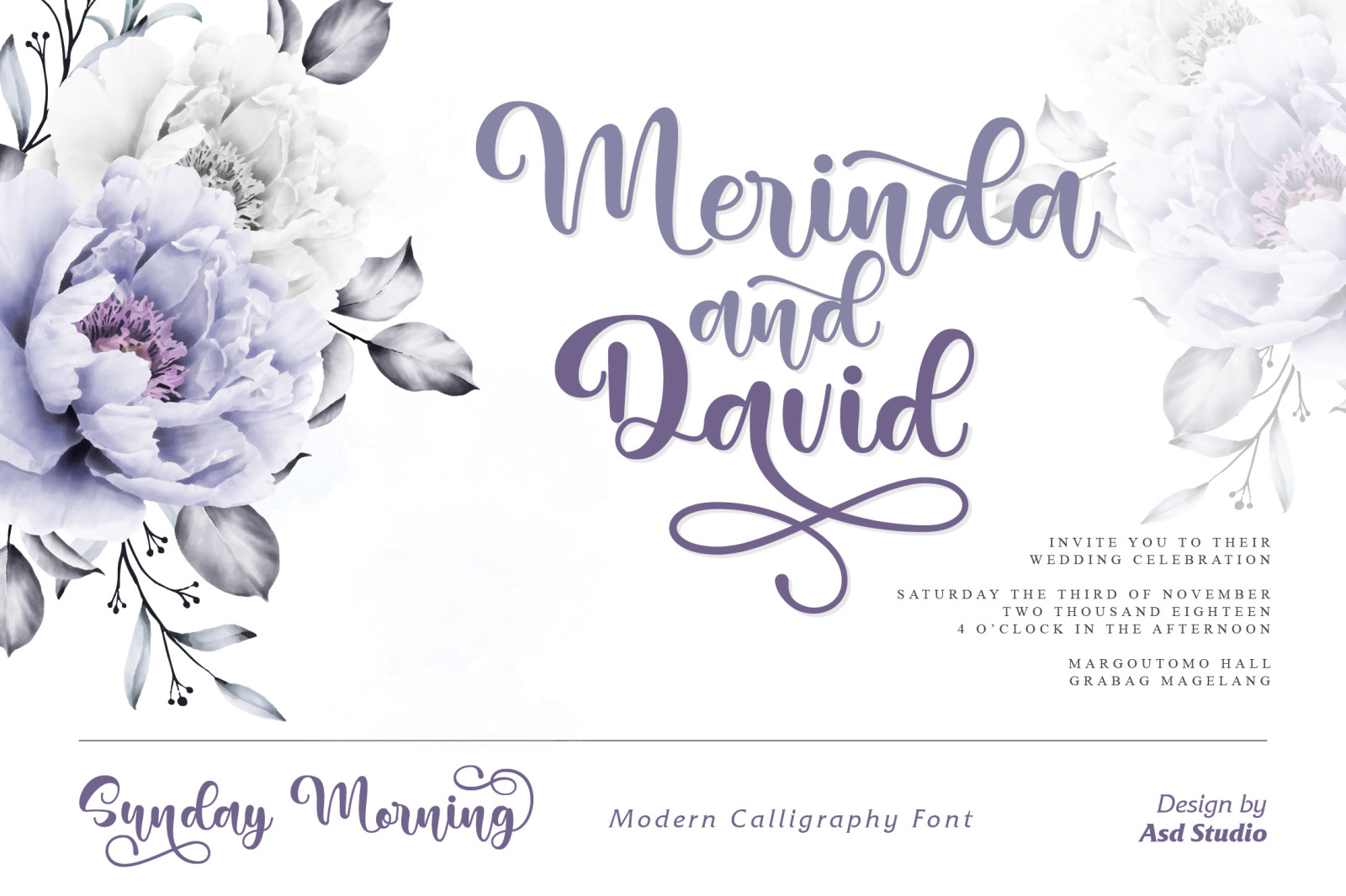 Sunday Morning - Modern Calligraphy Font