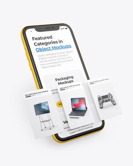 Iphone 11 Pro Case Mockup Free