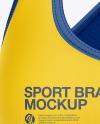 Women's Sports Bra Mockup - Front View