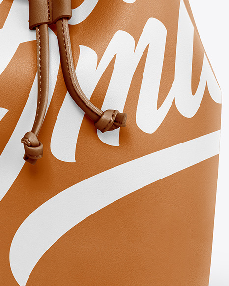Download Leather Duffle Bag Mockup Yellowimages