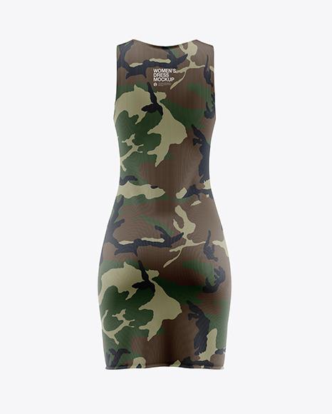 Women's Dress Mockup