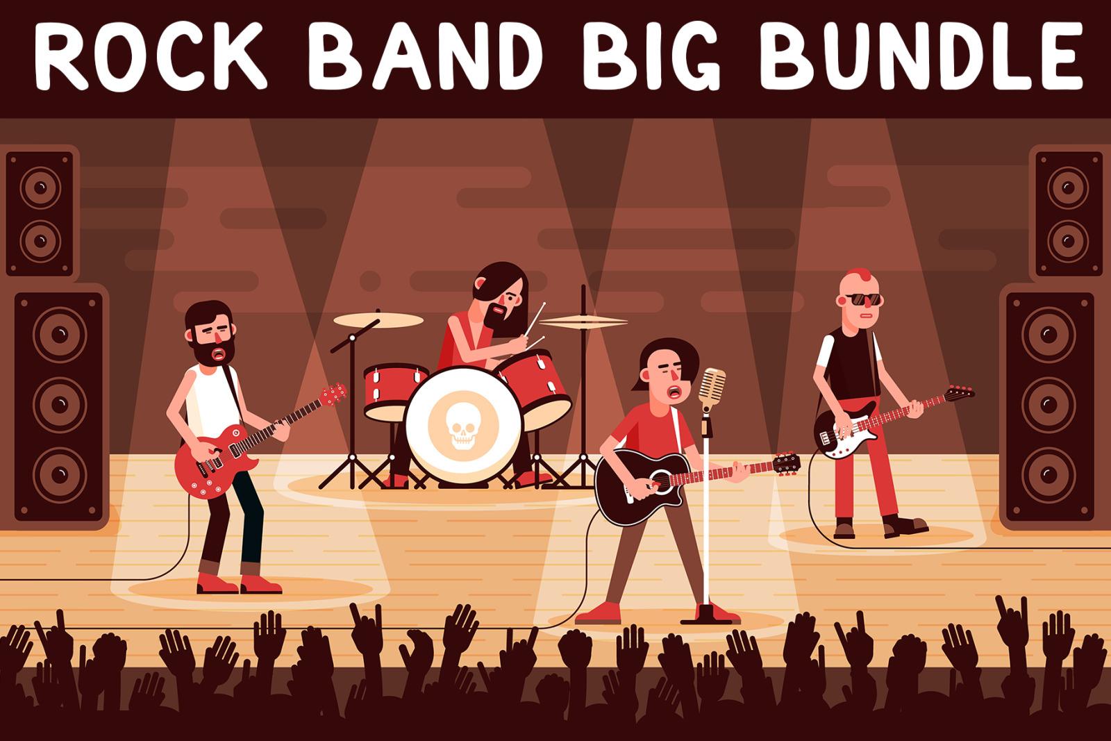 Rock Band Big Bundle