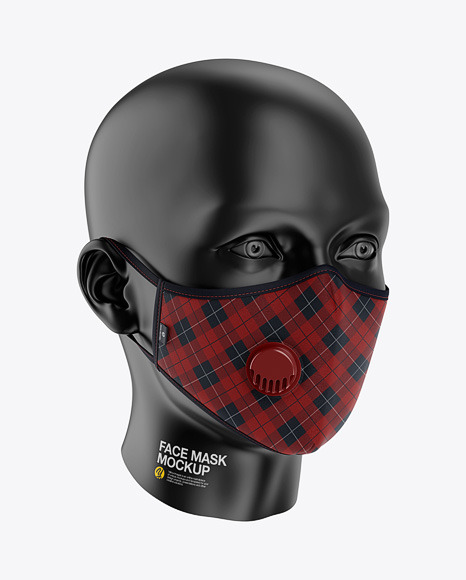 Anti-Pollution Face Mask with Exhalation Valve