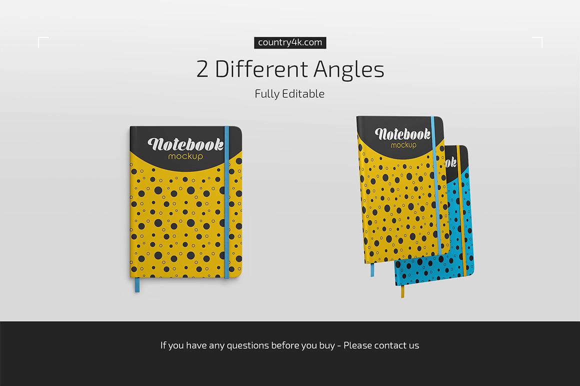 Notebook Mockup Set