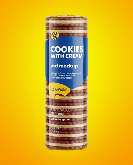 Cookie Wrapper Mockup