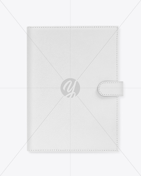 Leather Notebook Mockup