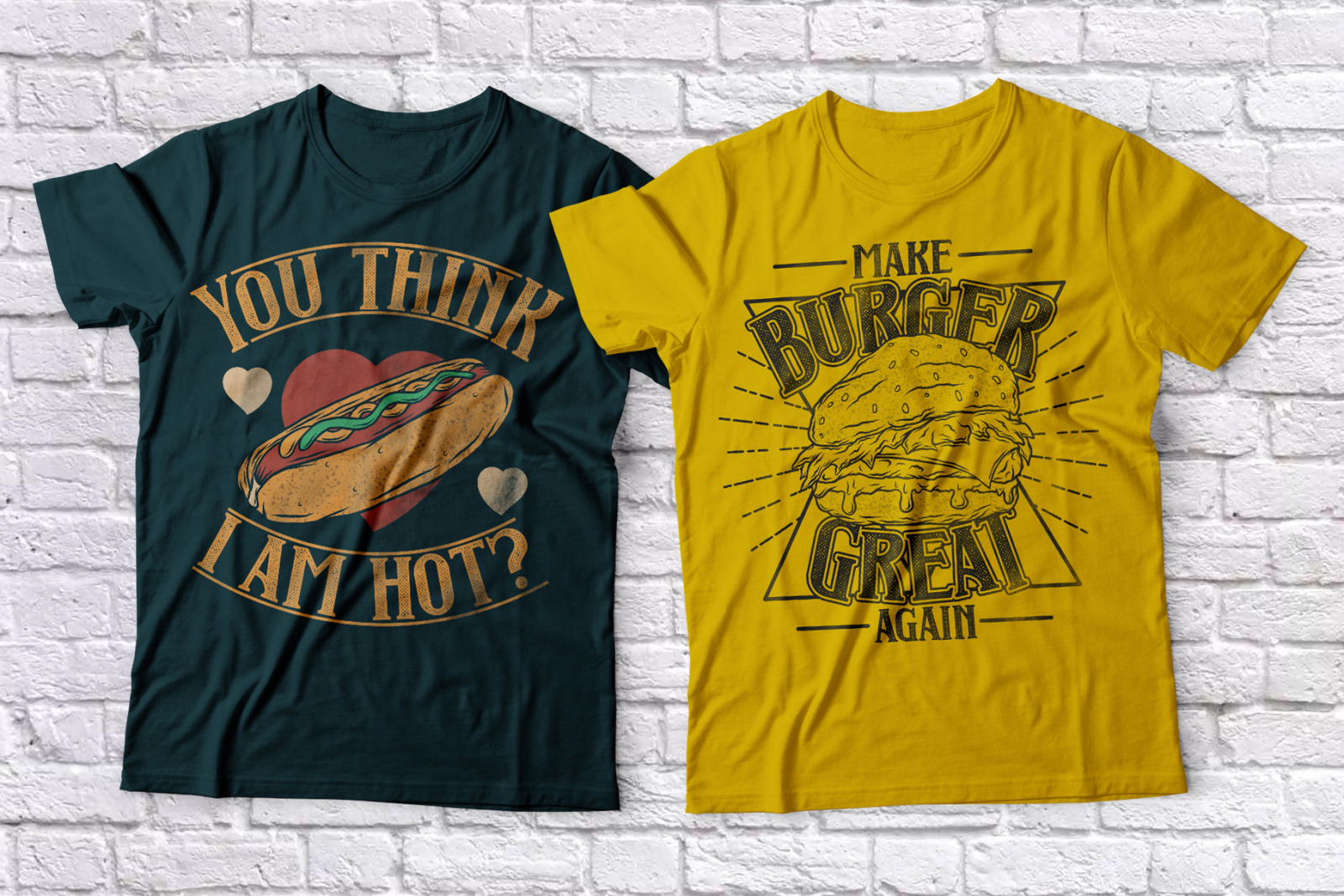 Fast Food Layered Typeface