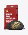 Box with Mask Mockup