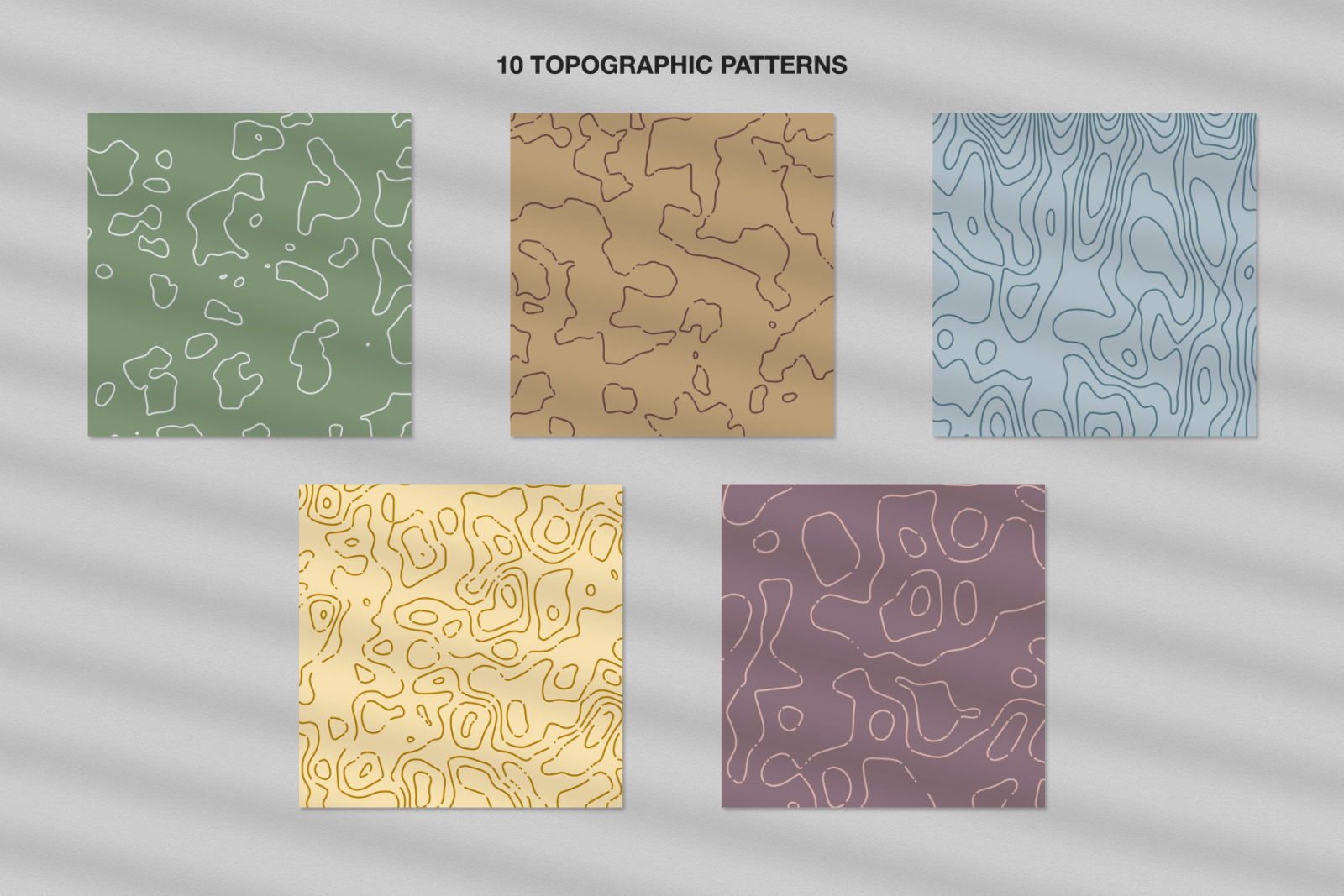 Topographic Patterns