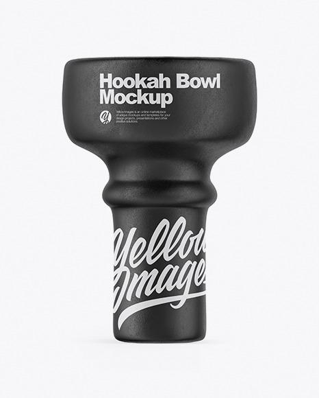 Hookah Bowl Mockup