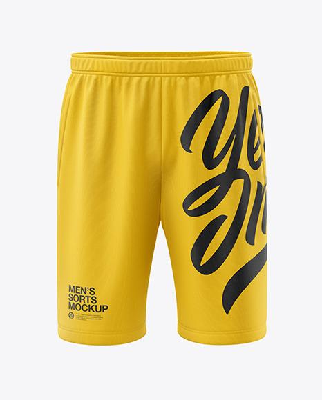 Men's Shorts Mockup