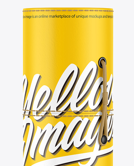 Matte Alcohol Tube Mockup