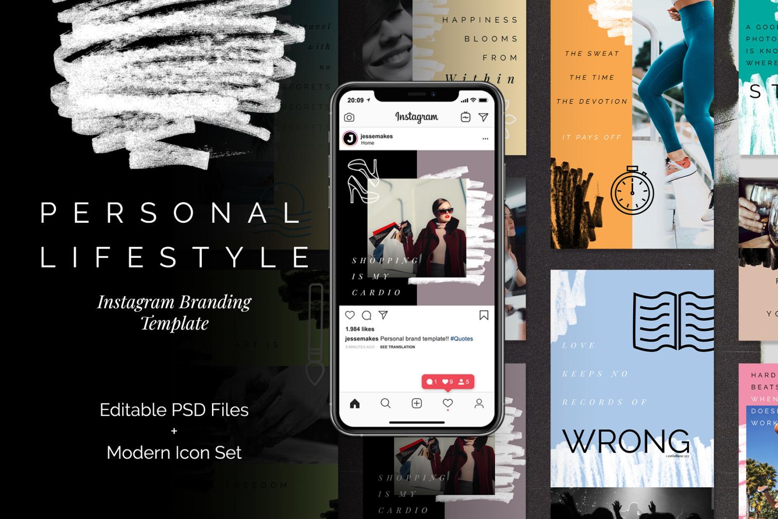 Download Instagram Story Mockup Free Psd PSD - Free PSD Mockup Templates