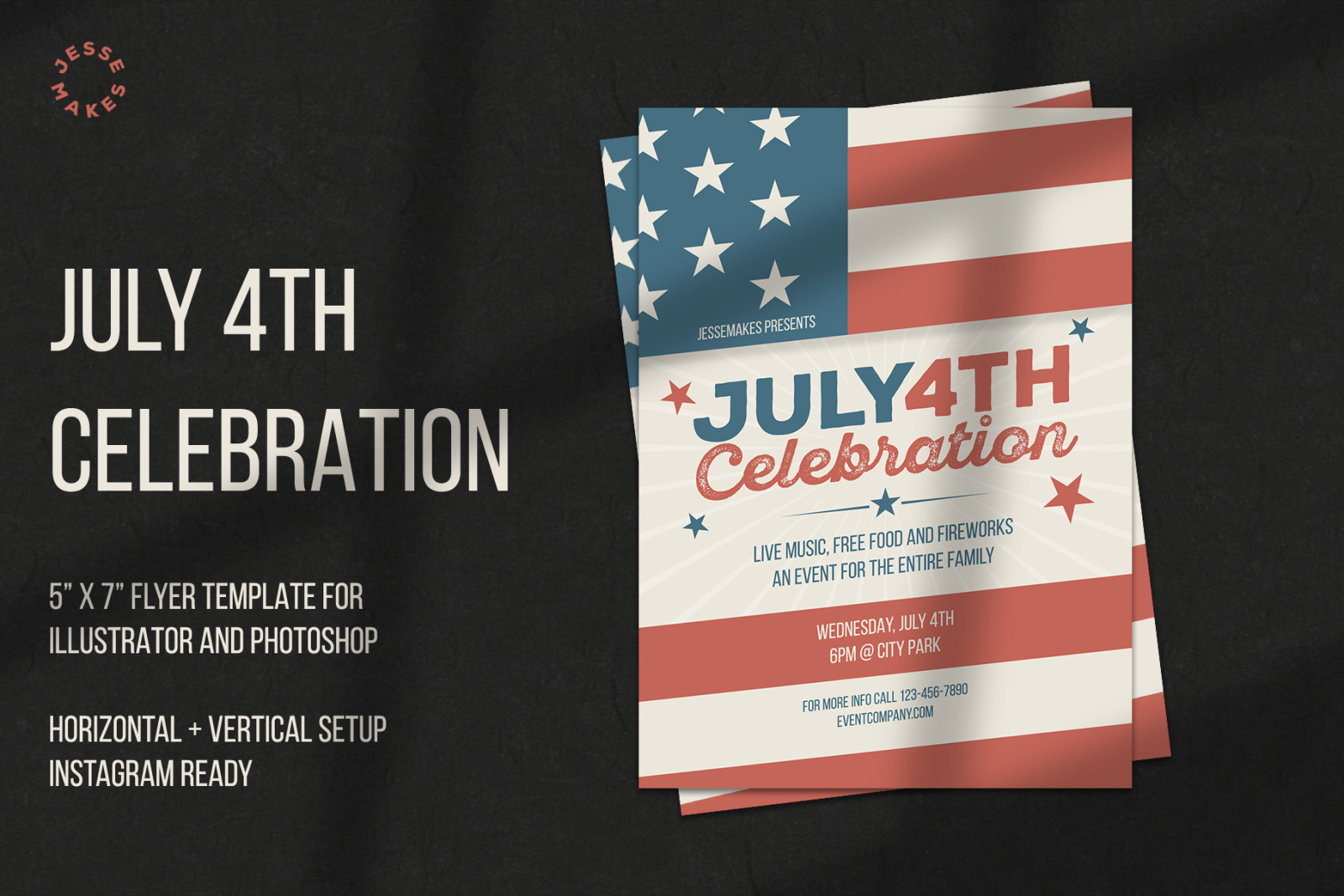July 4th Celebration Flyer