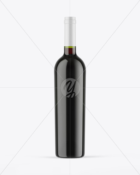 Download Green Glass Red Wine Bottle Glass Mockup PSD - Free PSD Mockup Templates