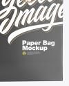 Textured Shopping Bag Mockup