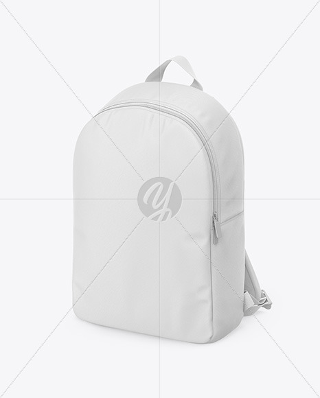 Backpack Mockup - Half Side View