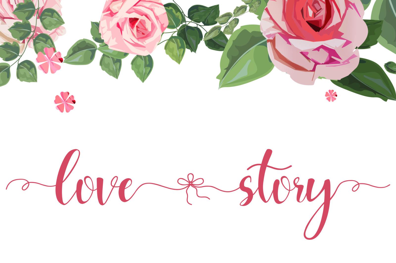 Hello Melda // Lovely Script Font