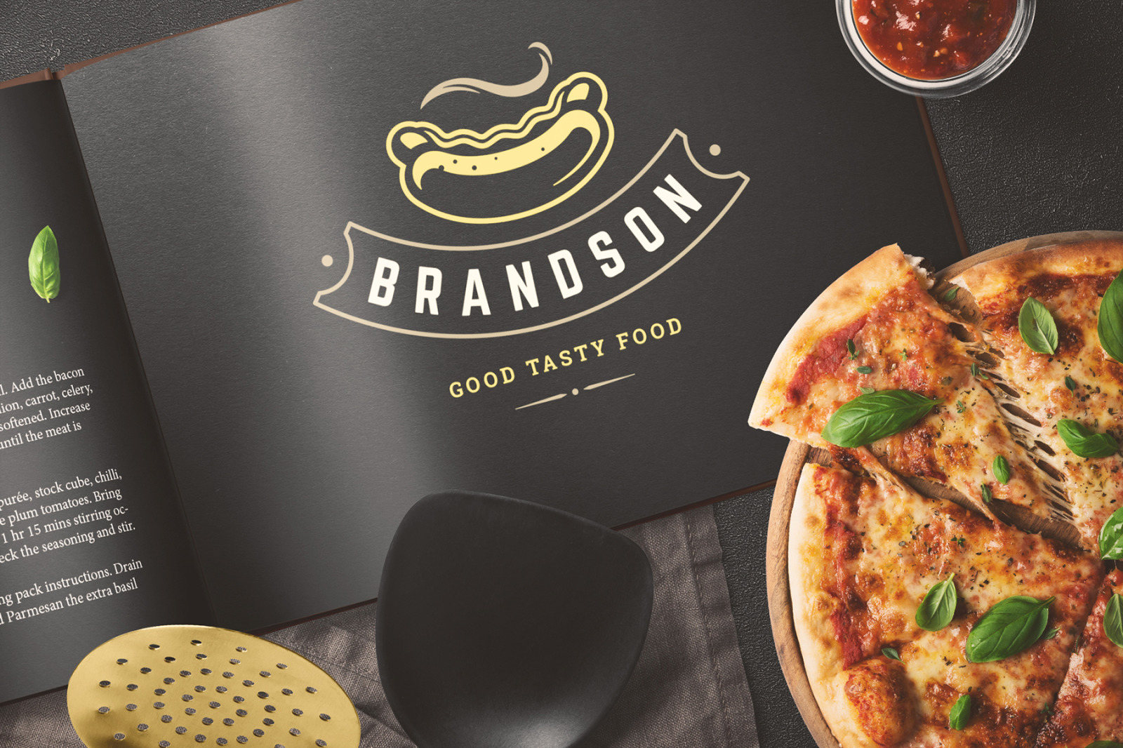 36 Fast Food Logos and Badges