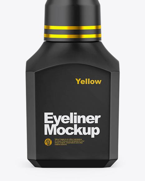 Matte Eyeliner Tube Mockup